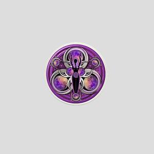 Goddess of the Purple Moon Mini Button