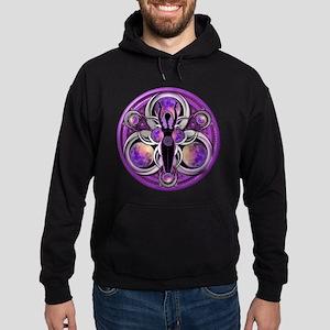 Goddess of the Purple Moon Hoodie (dark)