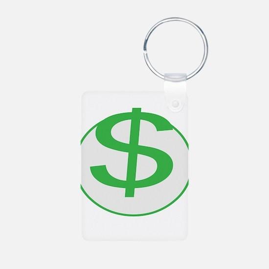 Dollar Sign, fun, Keychains