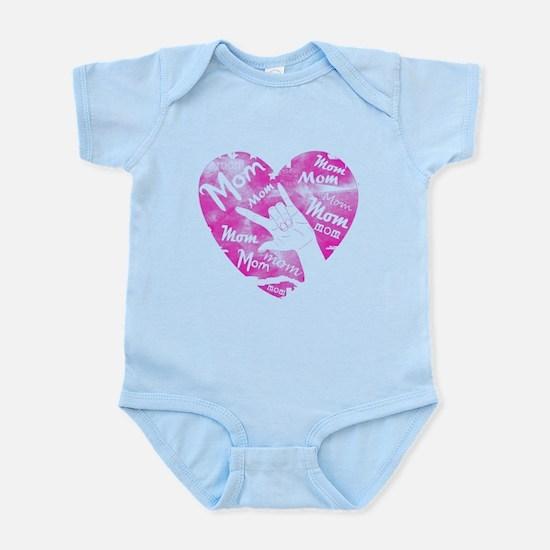 LOVE MY MOM - ASL Infant Bodysuit