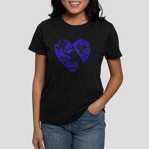 LOVE MY MOM - ASL Women's Dark T-Shirt