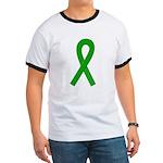 Green Ribbon Ringer T
