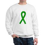 Green Ribbon Sweatshirt