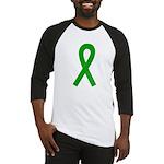 Green Ribbon Baseball Jersey