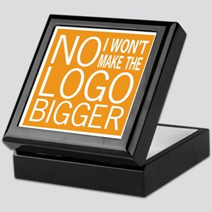 No Big Logos Keepsake Box