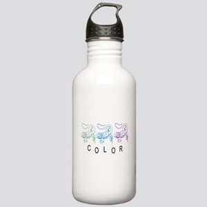 Color geckos Stainless Water Bottle 1.0L