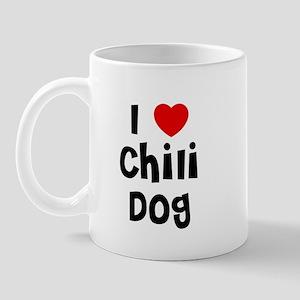 I * Chili Dog Mug