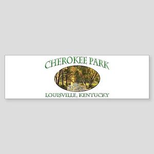 Cherokee Park Sticker (Bumper)