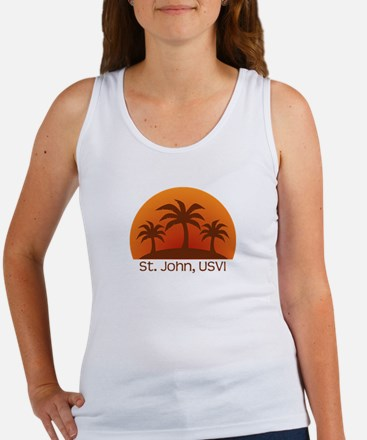 St. John, USVI Women's Tank Top
