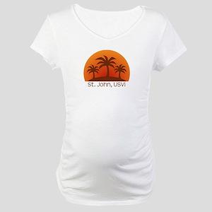St. John, USVI Maternity T-Shirt