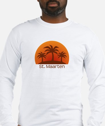 St. Maarten Long Sleeve T-Shirt