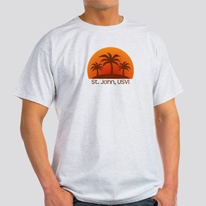 St. John, USVI Light T-Shirt