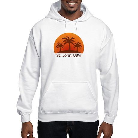 St. John, USVI Hooded Sweatshirt