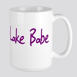 Lake Babe for Girls Who Love Large Mug
