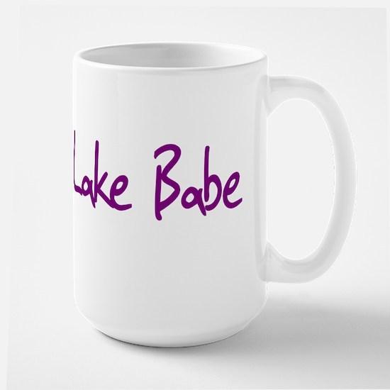 Lake Babe for Girls Who Love Large Mug