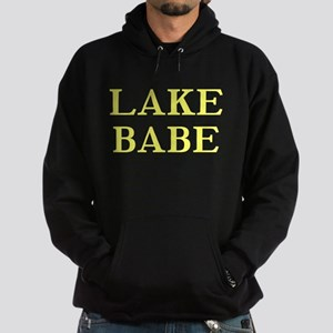 Lake Babe for Girls Who Love Hoodie (dark)