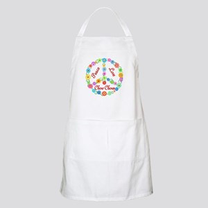 Peace Love Chow Chows Apron