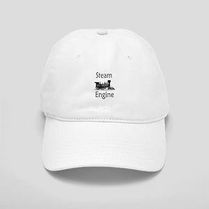 Steam Engine Baseball Cap