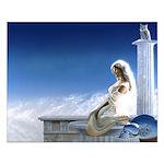 Pallas Athena Small Poster