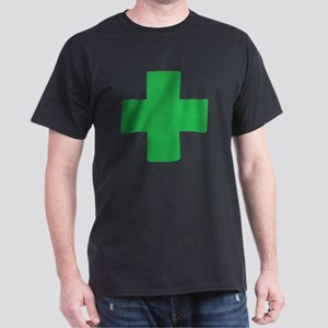 Green Cross Dark T-Shirt