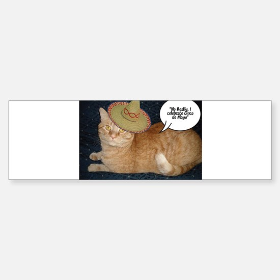 Cinco de Mayo Gifts Sticker (Bumper)