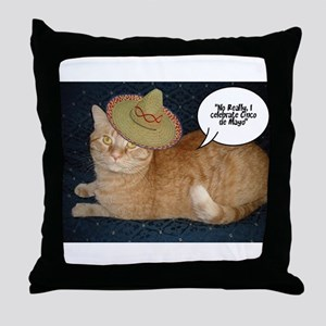 Cinco de Mayo Gifts Throw Pillow
