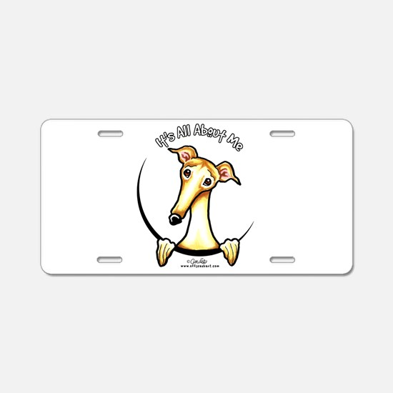 Fawn Greyhound IAAM Aluminum License Plate