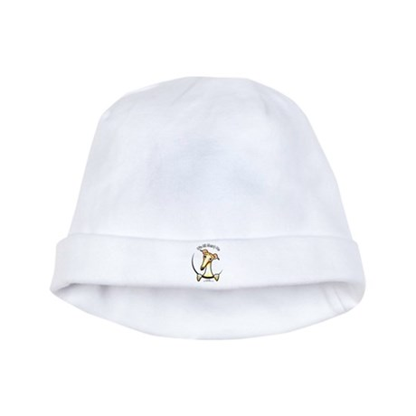 Fawn Greyhound IAAM baby hat