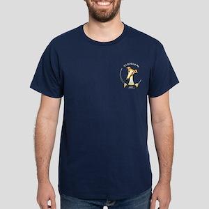 Fawn Greyhound IAAM Pocket Dark T-Shirt