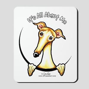 Fawn Greyhound IAAM Mousepad