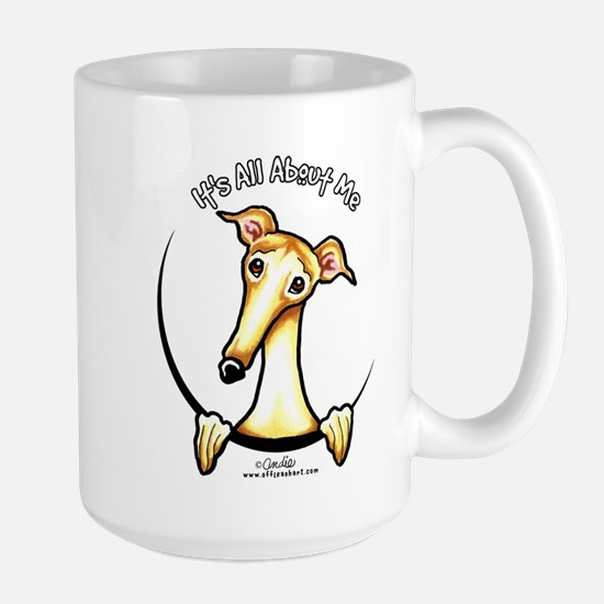 Fawn Greyhound IAAM Large Mug