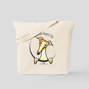 Fawn Greyhound IAAM Tote Bag