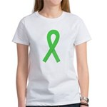 Lime Ribbon Women's T-Shirt