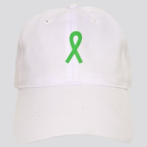 Lime Ribbon Cap