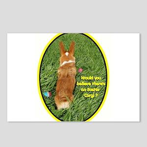 Easter Corgi Postcards (Package of 8)