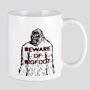 Beware Bigfoot Mugs