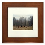 Hagan's Horses Framed Tile