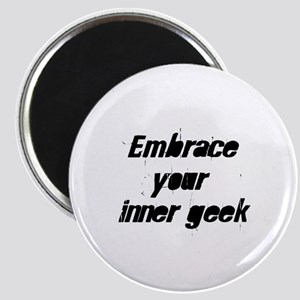 Embrace your inner geek Magnet