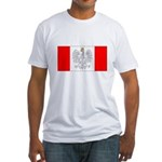 Polish Canadian Fitted T-Shirt