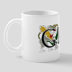 Gleason Celtic Dragon Mug