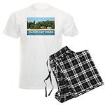 Olson Cottages Door County Men's Light Pajamas