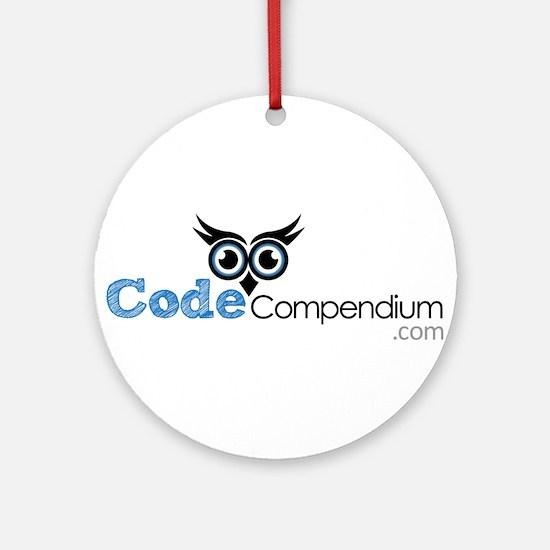 Code Compendium Ornament (Round)