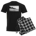 Olson Cottages Door County Men's Dark Pajamas