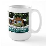 Olson Cottages Door County Large Mug