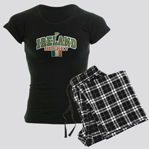 IE Ireland(Eire/Erin)Hockey Women's Dark Pajamas