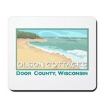 Olson Cottages Door County Mousepad