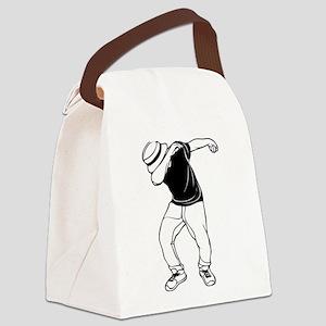 dab dance Canvas Lunch Bag
