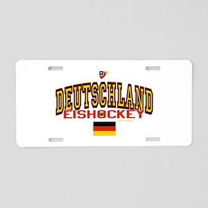 DE Germany Hockey Deutschland Aluminum License Pla