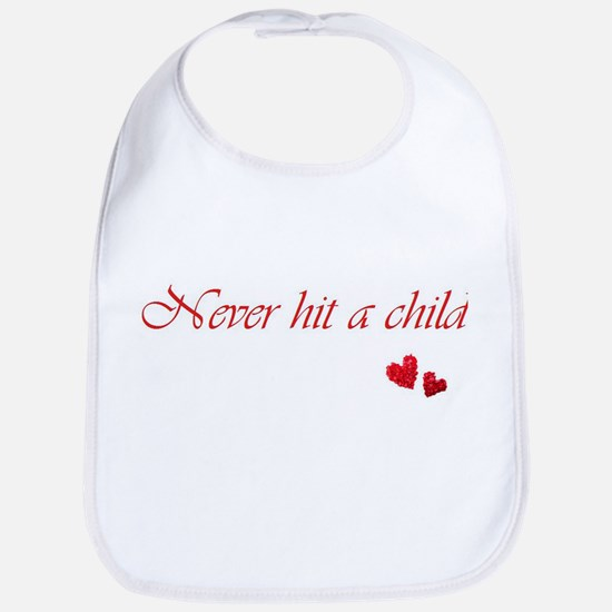 Child Abuse Awareness & Love Bib