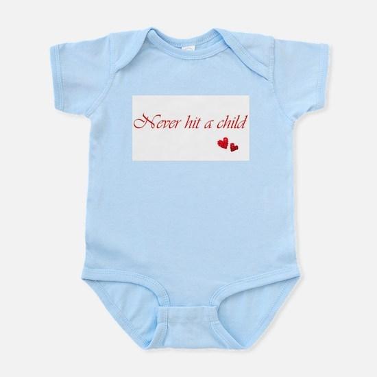 Child Abuse Awareness & Love Infant Bodysuit